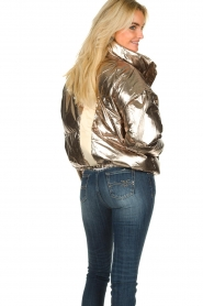 ba&sh |  Metallic down jacket Darcy | metallic  | Picture 6