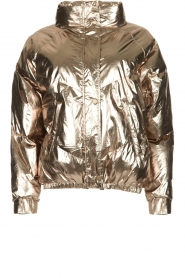 ba&sh |  Metallic down jacket Darcy | metallic  | Picture 1