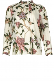 ba&sh |  Floral blouse Pauline | natural  | Picture 1