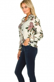 ba&sh |  Floral blouse Pauline | natural  | Picture 4