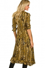 ba&sh |  Snake print midi dress Sahara | animal print  | Picture 5
