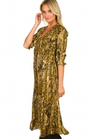 ba&sh |  Snake print midi dress Sahara | animal print  | Picture 4