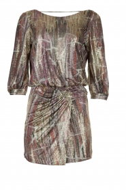 ba&sh |  Metallic dress with open back Salina | metallic  | Picture 1