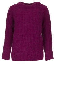 Knit-ted | Knitted sweater Bijou | purple  | Picture 1