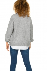 Knit-ted |  Knitted cardigan Bernelle | grey  | Picture 6