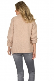 Knit-ted | Knitted cardigan Bernelle | natural  | Picture 5