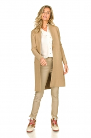 Knit-ted |  Long cardigan Sam | natural  | Picture 3