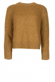 Knit-ted |  Sweater with lurex Banka | gold  | Picture 1