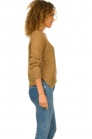 Knit-ted |  Sweater with lurex Banka | gold  | Picture 4