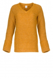Knit-ted |  Knitted sweater Balera | ochre   | Picture 1
