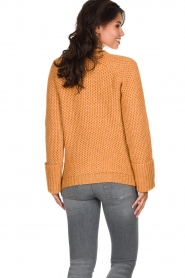 Knit-ted |  Knitted sweater Balera | ochre   | Picture 5