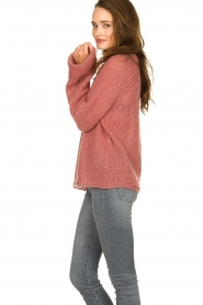 Knit-ted | Knitted sweater Becky | pink  | Picture 5