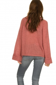 Knit-ted | Knitted sweater Becky | pink  | Picture 6