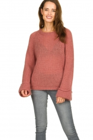 Knit-ted | Knitted sweater Becky | pink  | Picture 2