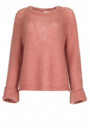 Knit-ted | Knitted sweater Becky | pink  | Picture 1