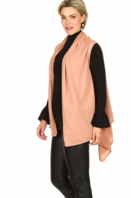 Knit-ted |  Sleeveless cardigan Lotte | pink  | Picture 4