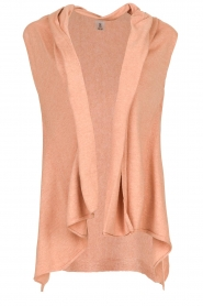 Knit-ted |  Sleeveless cardigan Lotte | pink  | Picture 1