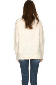 Knit-ted |  Sweater with subtle lurex details Sparkle | white  | Picture 5
