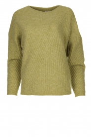 Knit-ted |  Knitted sweater Simra | green  | Picture 1