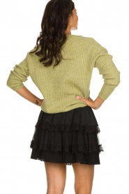 Knit-ted |  Knitted sweater Simra | green  | Picture 5