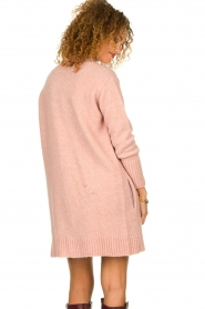 Knit-ted |  Knitted cardigan Basile | pink  | Picture 6