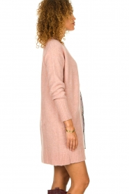 Knit-ted |  Knitted cardigan Basile | pink  | Picture 5