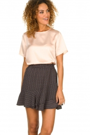 Knit-ted |  Top Larsa | pink  | Picture 2