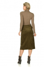 Knit-ted |  Skirt Aurora | green  | Picture 5