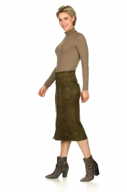 Knit-ted |  Skirt Aurora | green  | Picture 4
