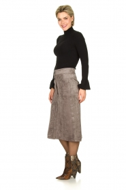 Knit-ted | Skirt Aurora | grey  | Picture 4