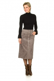 Knit-ted | Skirt Aurora | grey  | Picture 2