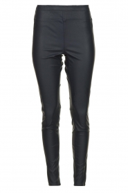 Knit-ted | Faux leather leggings Amber | blue  | Picture 1