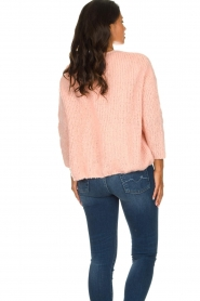 American Vintage |  Heavy knitted cardigan Boolder | pink  | Picture 6
