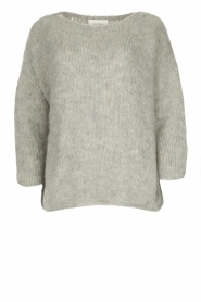 American Vintage |  Heavy knitted sweater Boolder | grey  | Picture 1