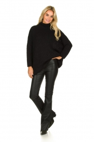 American Vintage | Woolen turtle neck sweater Boolder | black  | Picture 3