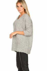 American Vintage | Oversized sweater Wilaland | grey  | Picture 4