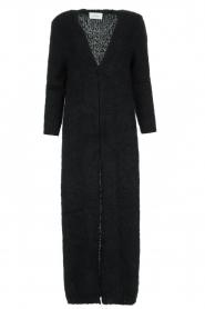 American Vintage |  Maxi cardigan Manina | black  | Picture 1