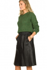 American Vintage   Knitted sweater Kiki   green    Picture 4