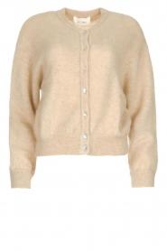 American Vintage | Woolen cardigan Zabidoo | beige  | Picture 1