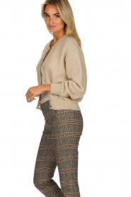 American Vintage | Woolen cardigan Zabidoo | beige  | Picture 4