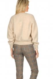 American Vintage | Woolen cardigan Zabidoo | beige  | Picture 5