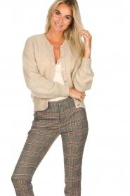 American Vintage | Woolen cardigan Zabidoo | beige  | Picture 2