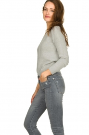 American Vintage |  Basic sweater Gogojet | grey  | Picture 4