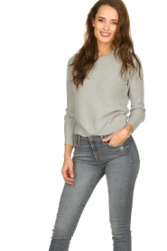 American Vintage |  Basic sweater Gogojet | grey  | Picture 2