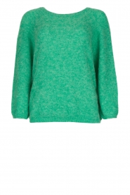 American Vintage |  Oversized sweater Woxilen | green  | Picture 1