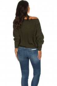 American Vintage |  Basic sweater Damsville | green  | Picture 6
