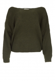 American Vintage |  Basic sweater Damsville | green  | Picture 1