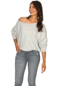 American Vintage |  Basic sweater Damsville | grey  | Picture 2