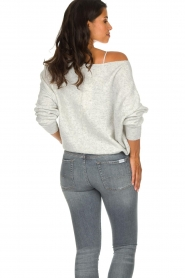 American Vintage |  Basic sweater Damsville | grey  | Picture 5