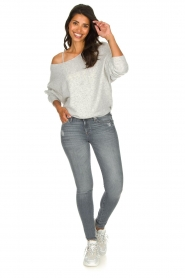 American Vintage |  Basic sweater Damsville | grey  | Picture 3
